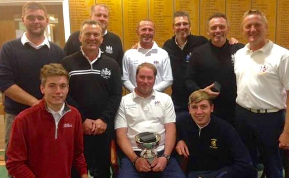 Weston-super-Mare GC - Somerset Bowl Winners 2015